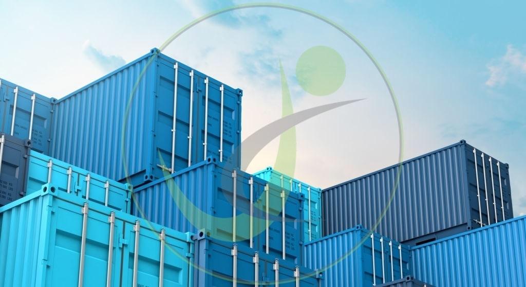 حمل کانتینر های آبی برای واردات کالا